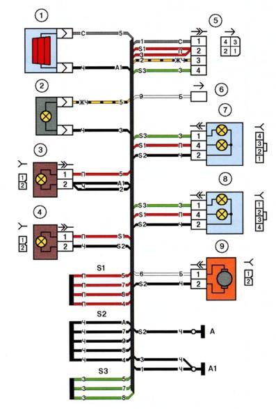 Схема электрических соединений