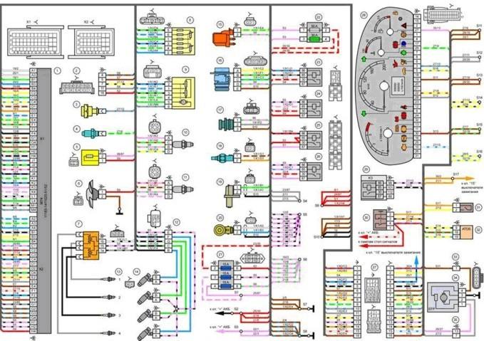Форд фокус 1 схема