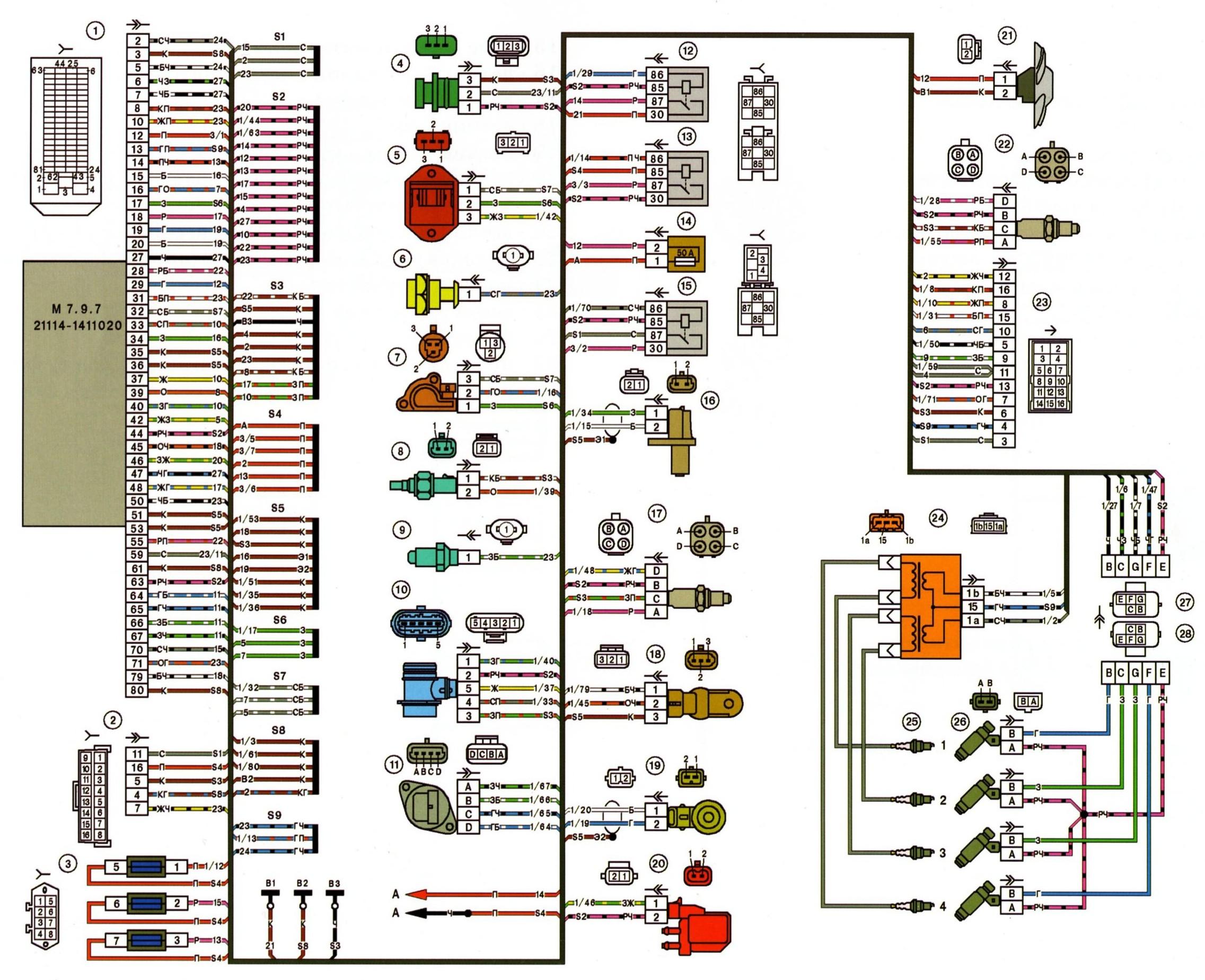 Ваз 21043 коробка передач схема