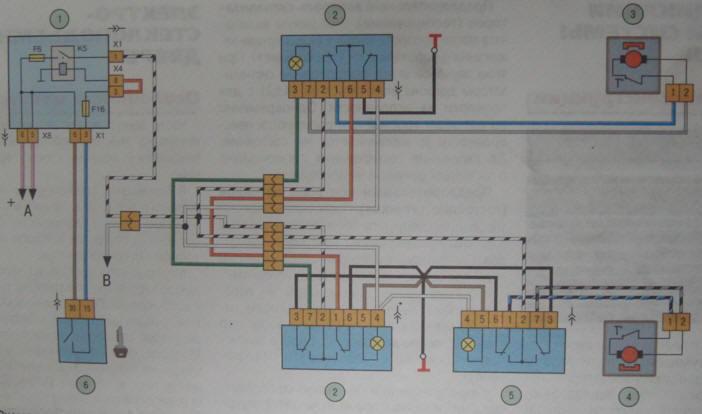 Схема подключения контроллера z-5r на ваз 21099.  Ваз 2107 электрическая схема предохранители.