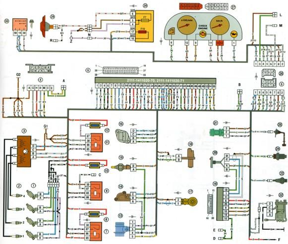 Схема электрических соединений эсуд фото 723