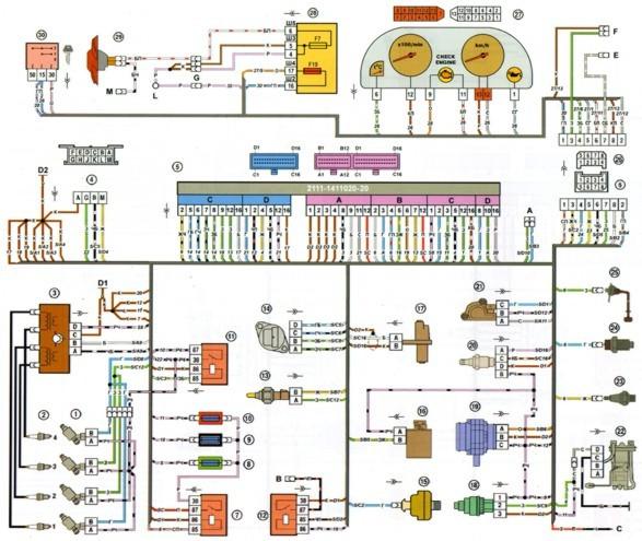 схемы электро оборудование